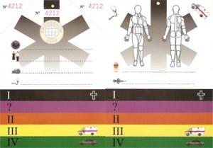 Las Tarjetas de Triage y sus características
