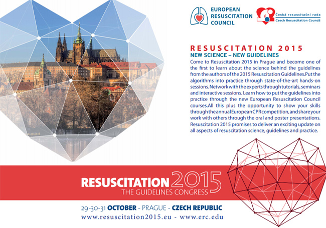Resuscitation 2015 in Prague