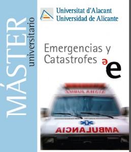 Convalidación del título propio al Oficial del Máster en Emergencias y Catástrofes UA