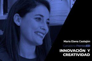 Nuestra compañera Mª Elena, ganadora en los premios ED