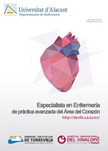 Especialista en Enfermería de Práctica Avanzada del Área del Corazón 2018-19